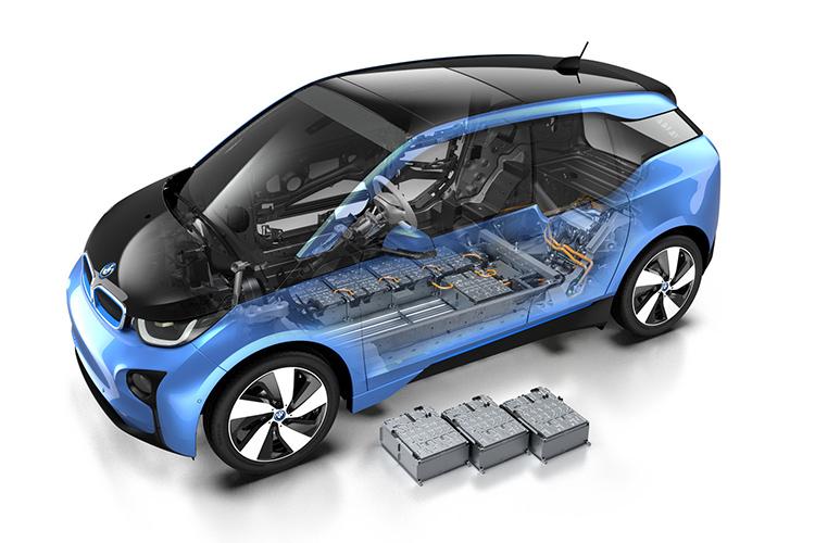 BMW i3 батарея