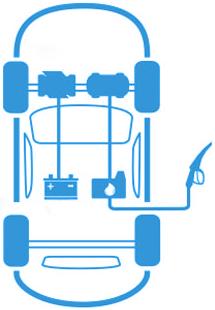 Гибридный автомобиль (HEV)