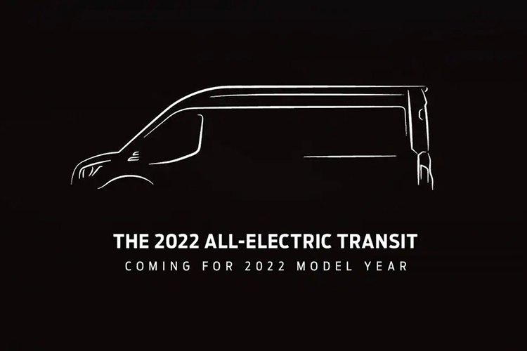 Ford Transit All Electric 2022