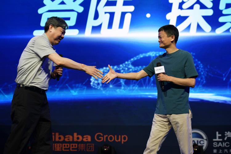 Автоконцерн SAIC и корпорация Alibaba основали в Китае электромобильный стартап