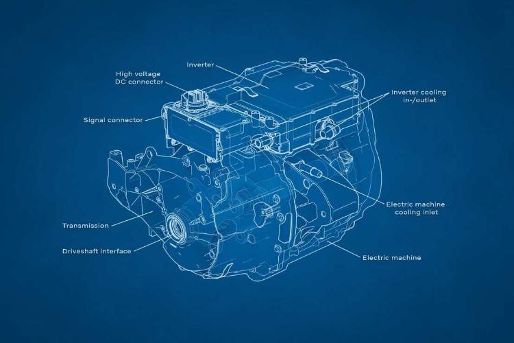 Volvo electric motor