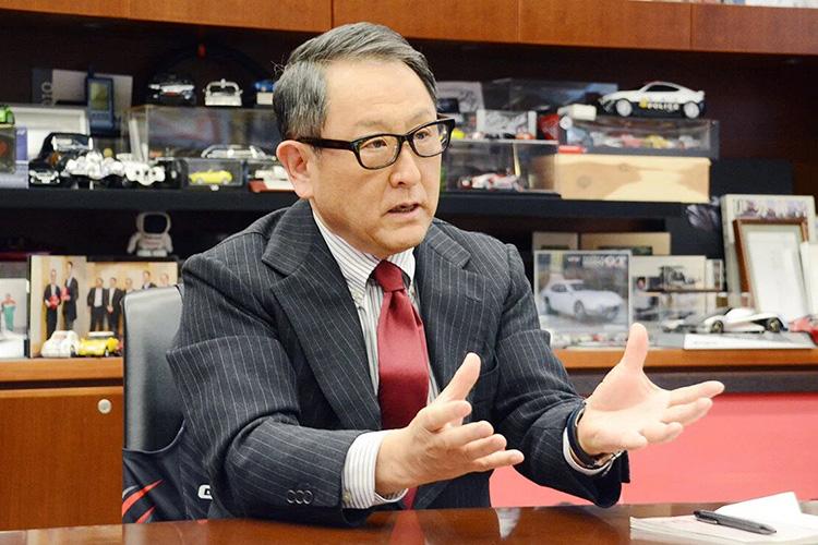 Президент концерна Toyota Motor Акио Тойода