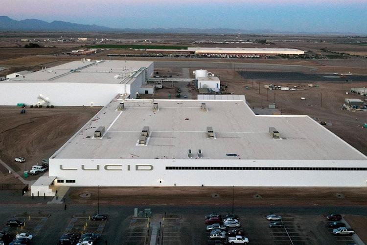 Завод Lucid Motors в Аризоне