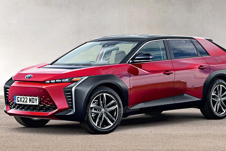 Toyota BZ EV концепт