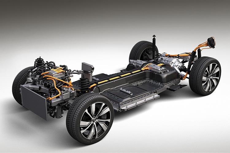 Volvo платформа CMA