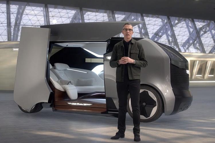 Cadillac Personal Autonomous Vehicle CES