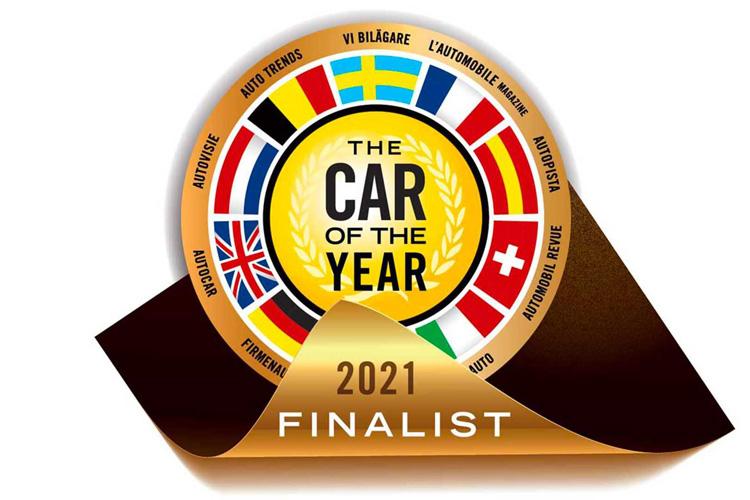 семь финалистов конкурса Car of the Year 2021