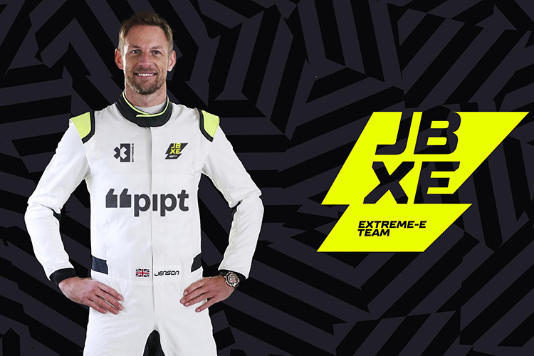 Дженсон Баттон команда JBXE Extreme E
