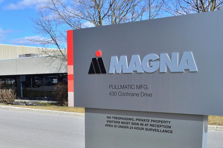 Поставщик автомобильных комплектующих Magna