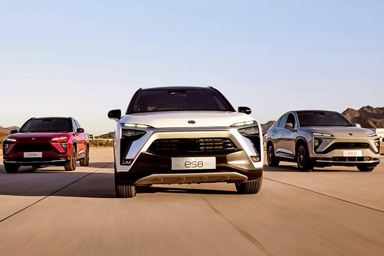 Китайский производитель электромобилей NIO