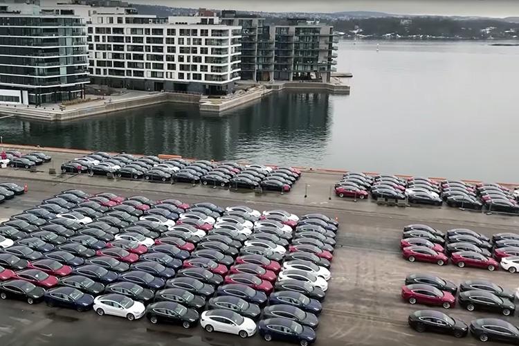 Tesla Model 3 в Норвегии