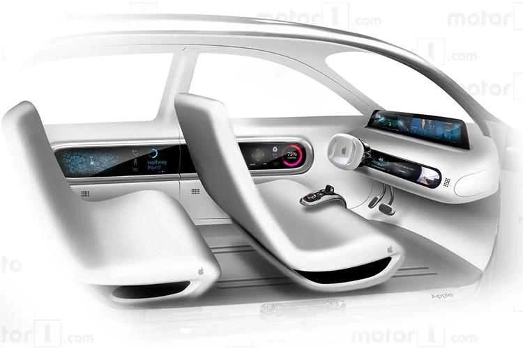 Apple Car render Motor1