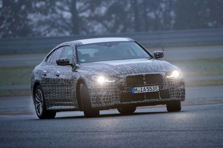 BMW i4 видео