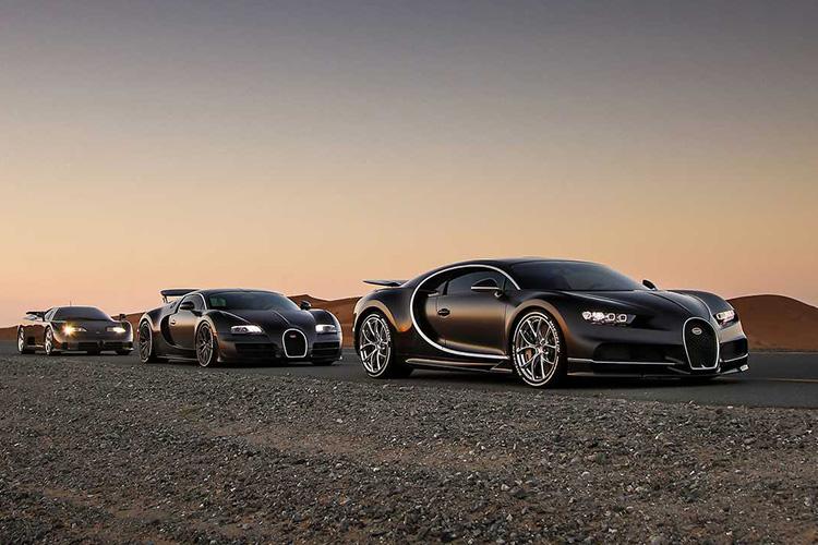 Bugatti Chiron, Veyron, EB110