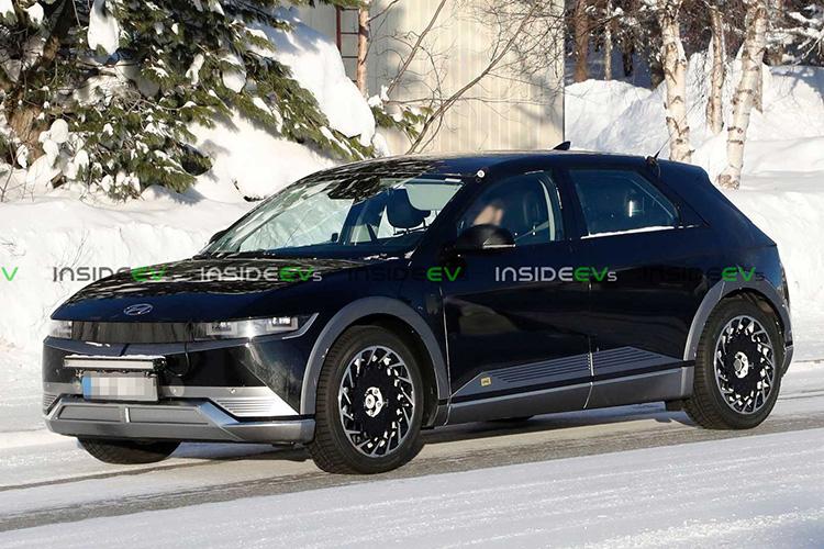 Hyundai Ioniq 5 живые фотографии