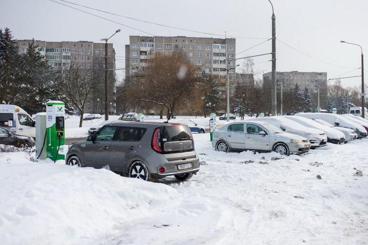 Kia Soul EV в Минске опыт эксплуатации