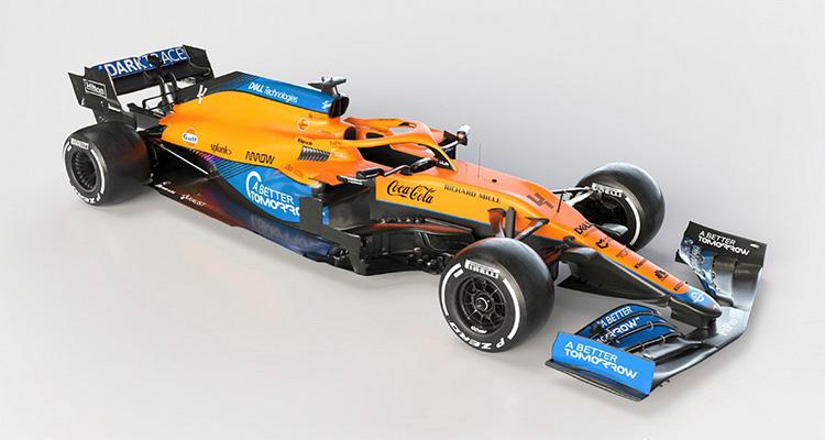 болид Формула-1 McLaren MCL35M