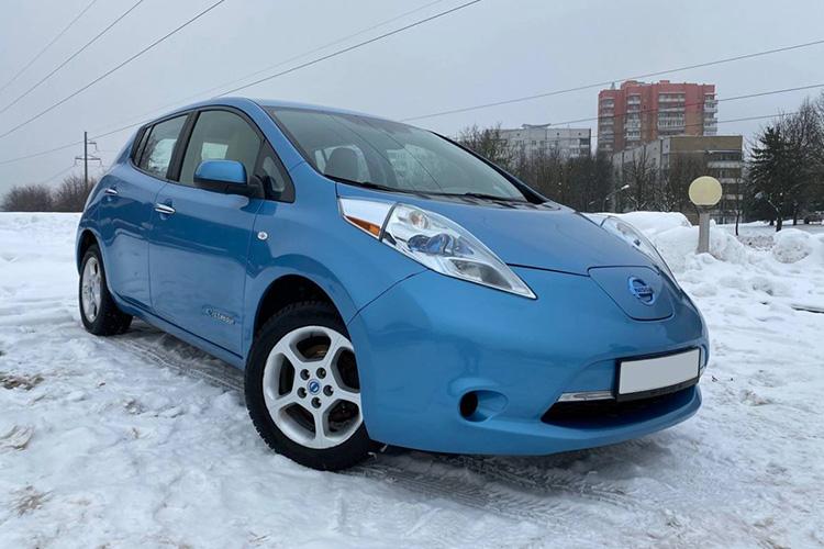 Nissan Leaf 2011 в Беларуси