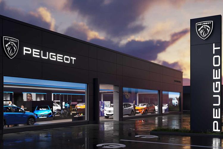 Новый логотип Peugeot
