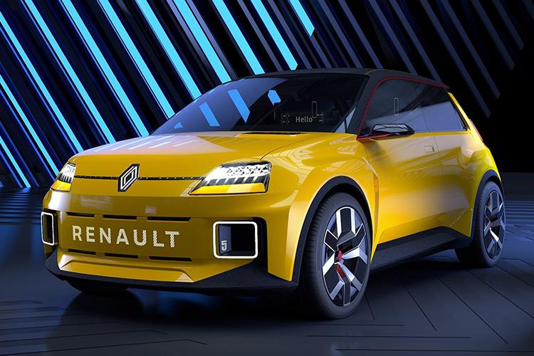 Renault 5 EV прототип
