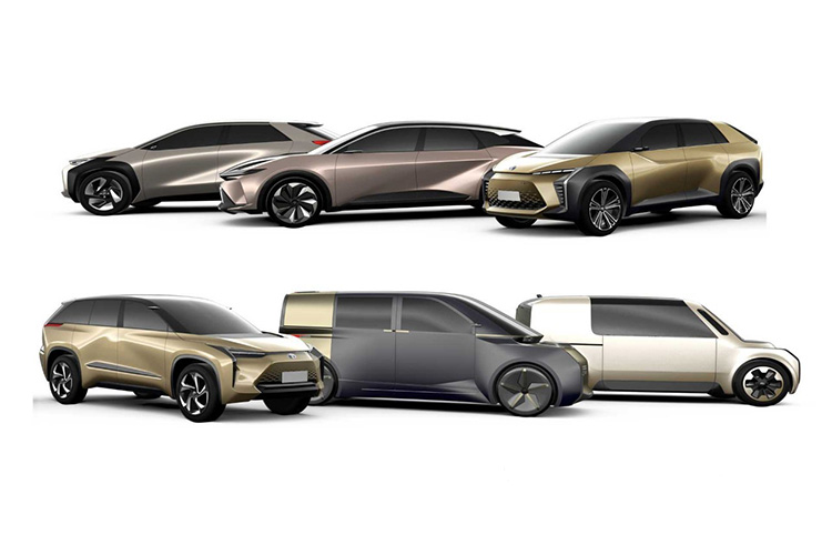 Toyota e-TNGA модели