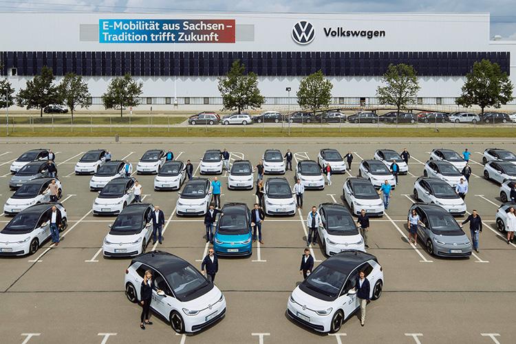 volkswagen id.3 employees