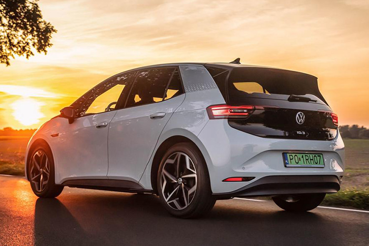Volkswagen ID.3 лидер продпж