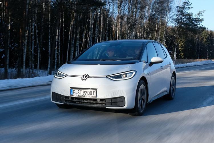 тест-драйв Volkswagen ID.3 в Минске