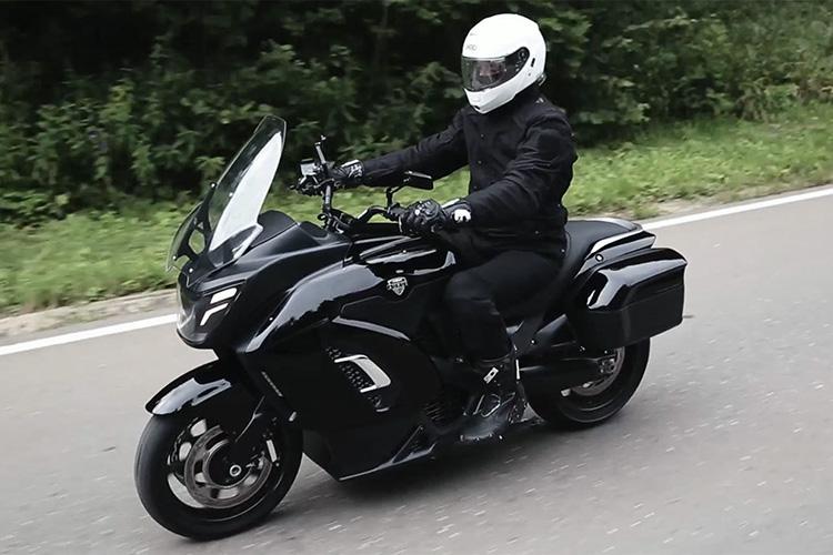 прототип электрического мотоцикла Aurus
