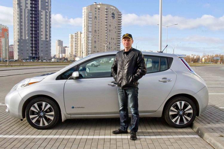 Василий предприниматель из Минска Nissan Leaf 2013