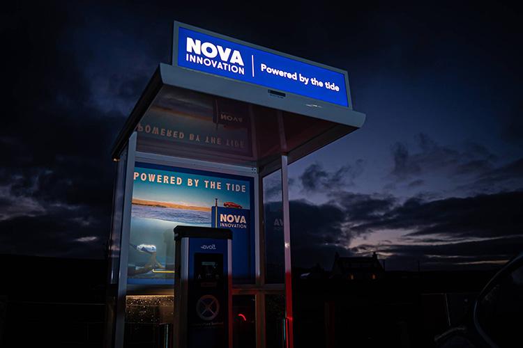 Nova Innovation зарядка от приливов в Шотландии