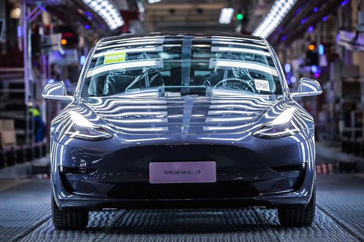 Tesla Model 3 китайской сборки