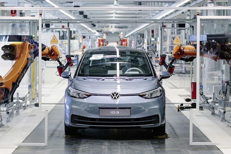 Volkswagen ID.3 на конвейере