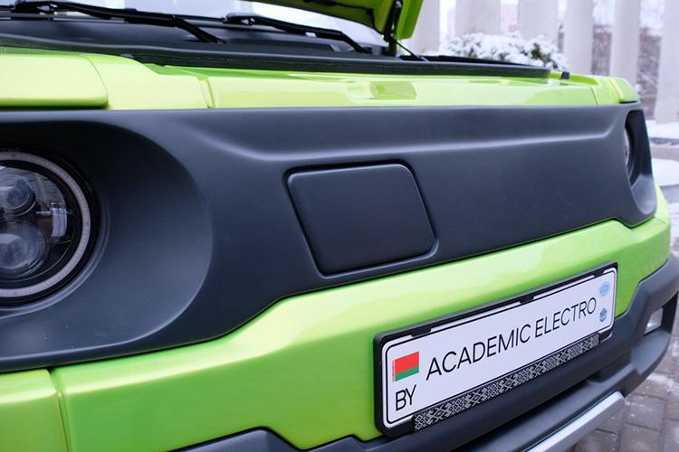 Белорусский электромобиль Academic Electro