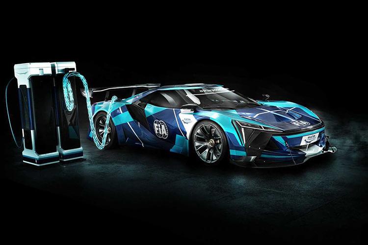 гонки на электрокарах GT