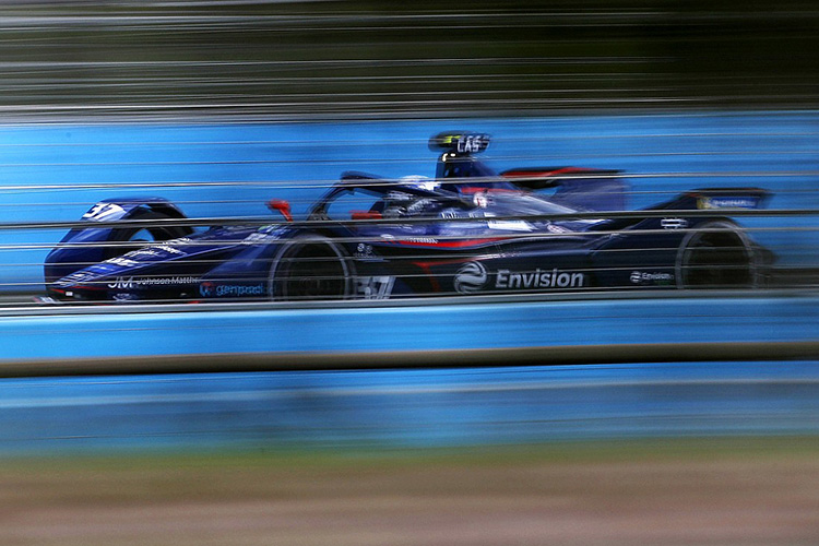 Ник Кэссиди, Envision Virgin Racing, Audi e-tron FE07 Формула Е Рим