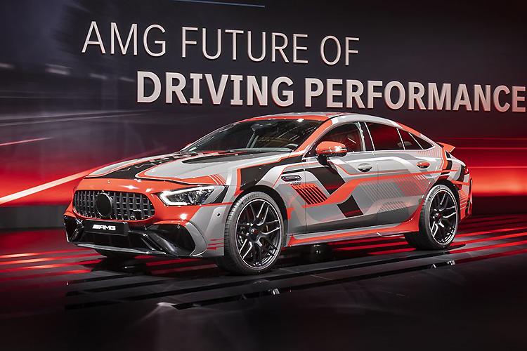 Mercedes-AMG представил 800-сильную гибридную установку