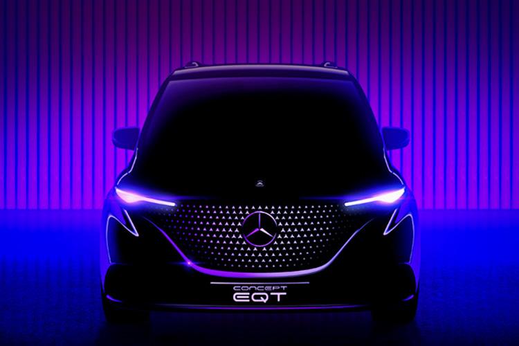 Mercedes-Benz EQT концепт