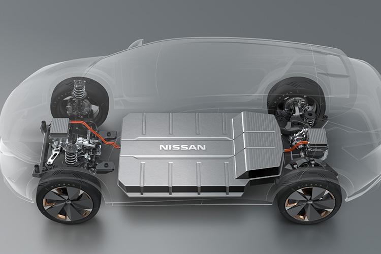 Nissan Ariya EV platform