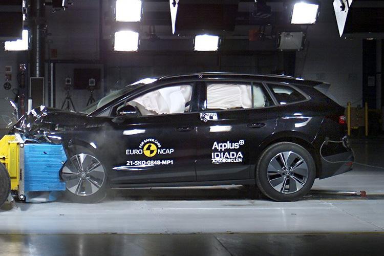 Skoda Enyaq iV испытания Euro NCAP