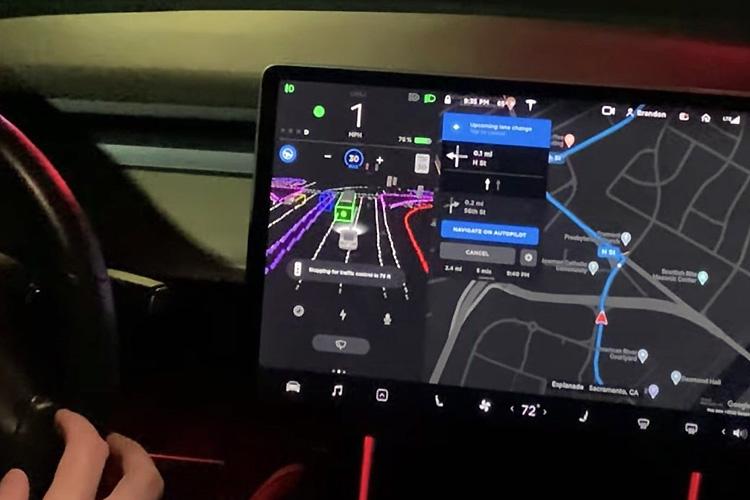 Tesla автопилот FSD