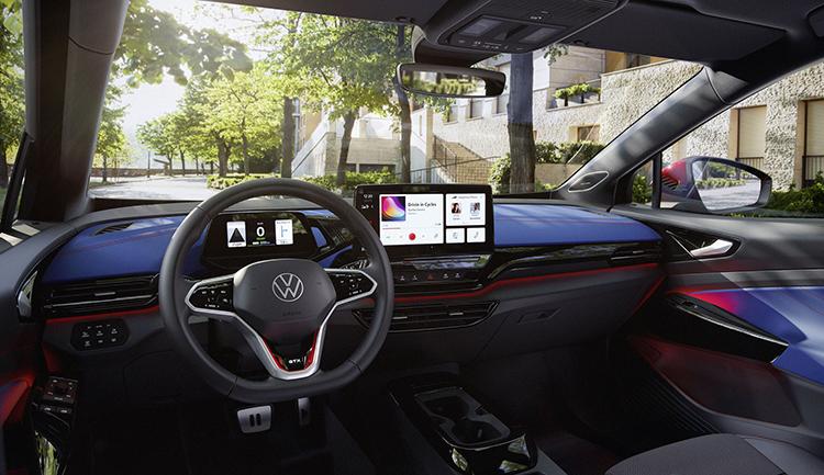 Volkswagen ID.4 GTX интерьер