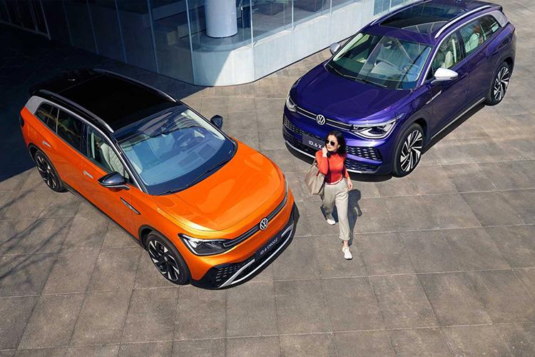 Volkswagen ID.6 X и ID.6 Crozz