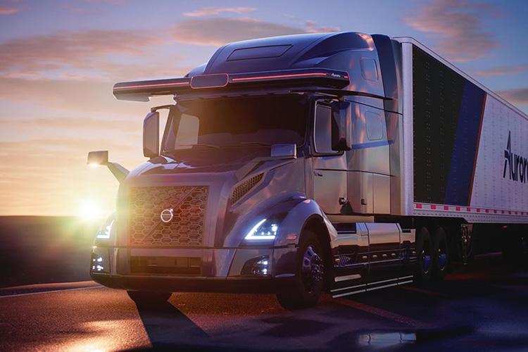 Aurora и Volvo займутся разработкой самоуправляемых грузовиков четвертого уровня