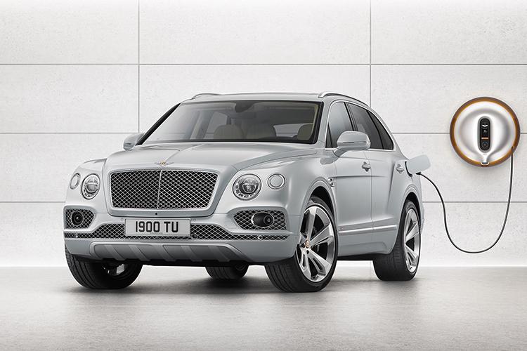 Bentley Bentayga плагин-гибрид