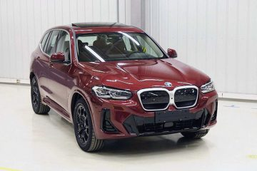 BMW iX3 рестайлинг