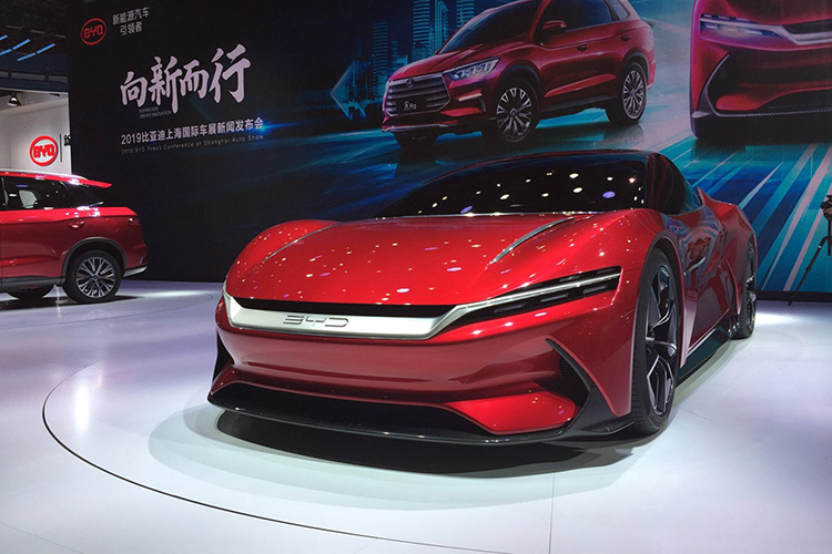 BYD E-Seed electric concept