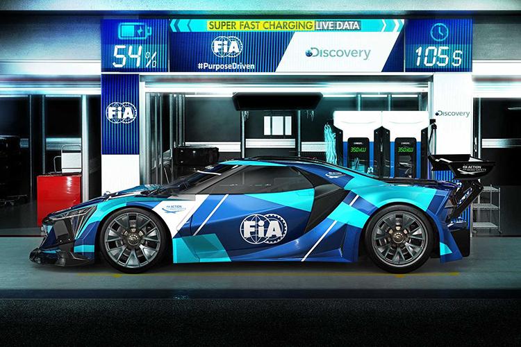 FIA рассказала о гонках Electric GT