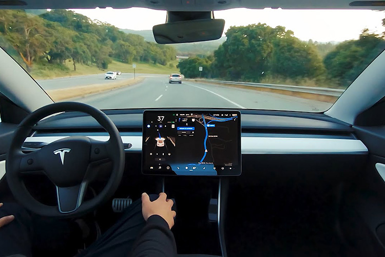 Tesla Full Self-Driving Beta автопилот