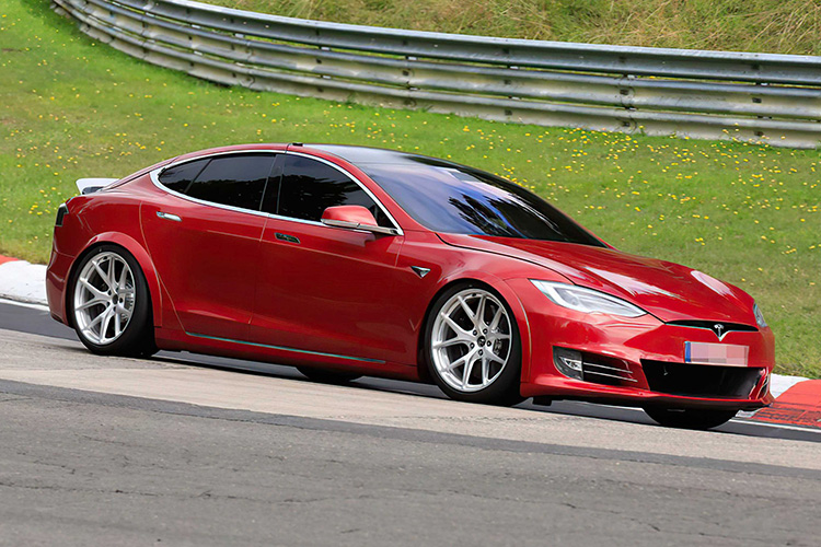Tesla Model S Plaid Laguna Seca